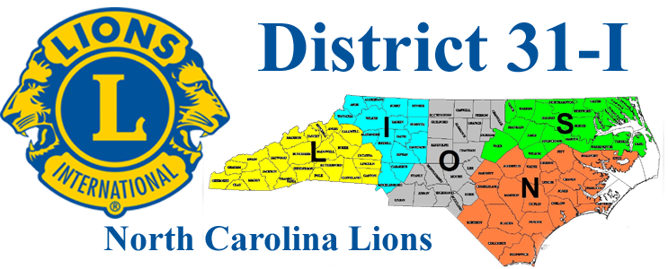North Carolina Lions District 31-I